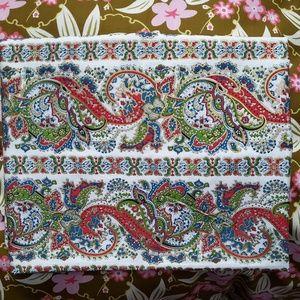 """Vintage Paisley Cotton Fabric 3y X 44"""""""